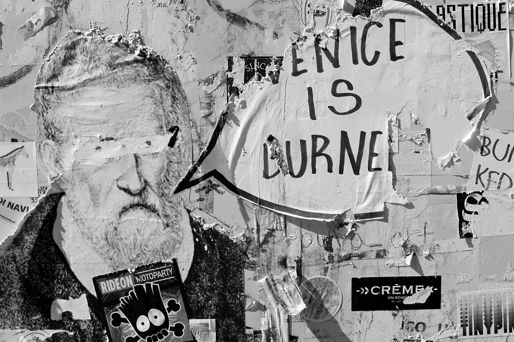Series: VENICE IS BURNED